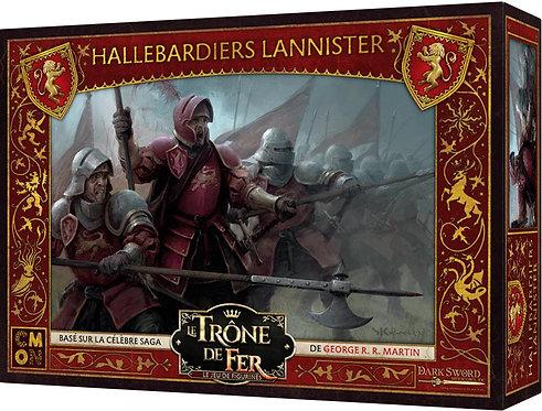 LE TRÔNE DE FER : Le Jeu De Figurines, Hallebardiers Lannister