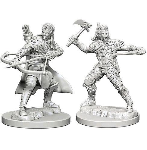 D&D Figurines HUMAN RANGER