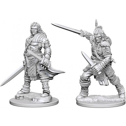 D&D Figurines HUMAN MALE FIGHTER