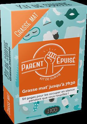 KIT DE SURVIE PARENT EPUISE - Grasse mat'jusqu'à 7h30