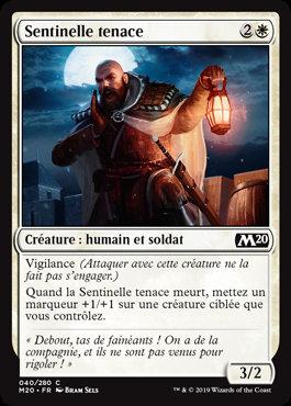 Blanche - Sentinelle tenace (M20)