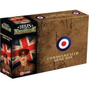 HEROES OF NORMANDY Ext. Commonwealth Army Box