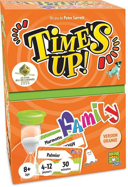 TIME'S UP FAMILY Orange