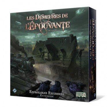 LES DEMEURES DE L'EPOUVANTE Seconde Edition Ext. Effroyables Excursions