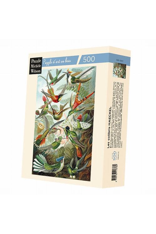 Puzzle Michèle Wilson - Les Colibris HAECKEL 500 P