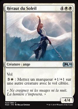 Blanche - Héraut du Soleil (M20)