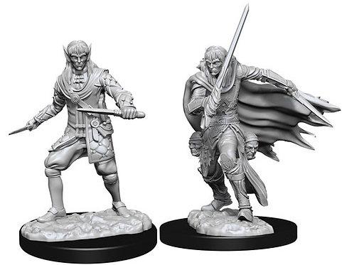 D&D Figurines MALE ELF ROGUE