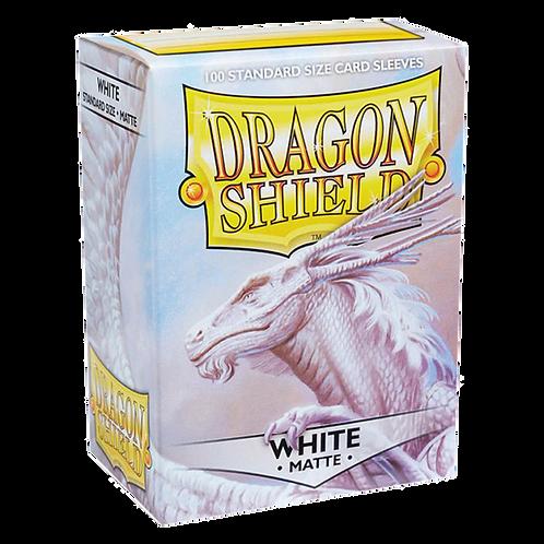 Dragon Shield WHITE MATTE