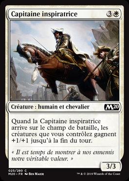 Blanche - Capitaine inspiratrice (M20)