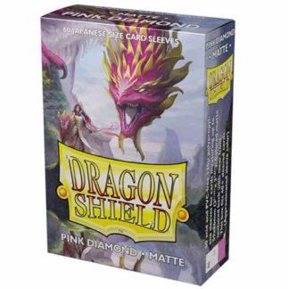 Dragon Shield-format japonais 60 sleeves : PINK DIAMOND
