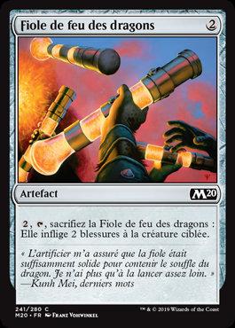 Artefact - Fiole de feu des dragons (M20)