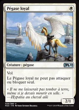 Blanche - Pégase loyal (M20)