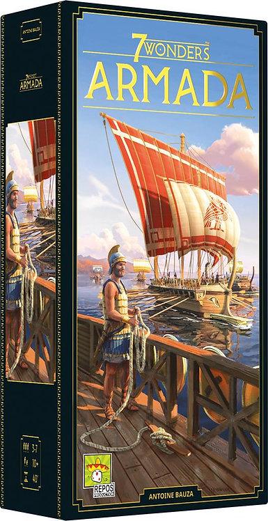 7 WONDERS SECONDE EDITION : Ext. Armada