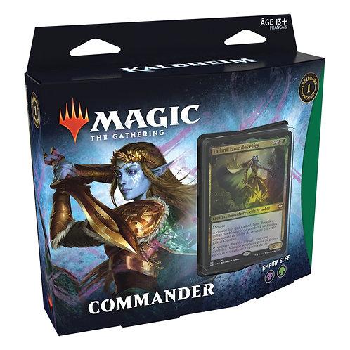 """MAGIC: Deck de Commander """"Empire Elfe"""" VF"""