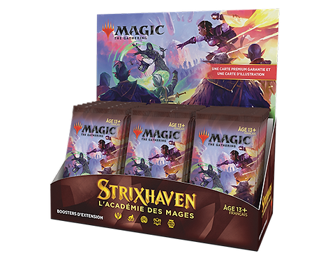 MAGIC: Boîte de 30 Boosters d'Extension STRIXHAVEN VF