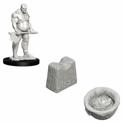 DEEP CUTS Figurines EXECUTIONER & CHOPPING BLOCK