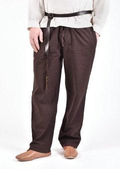 Pantalon médiéval HAGEN Marron