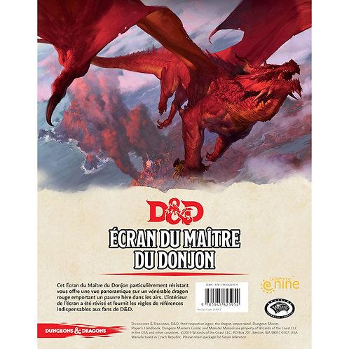 D&D 5ème édition : ECRAN DE MAITRE DU DONJON