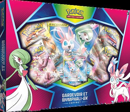 Pokémon Coffret GARDEVOIR et NYMPHALI-GX