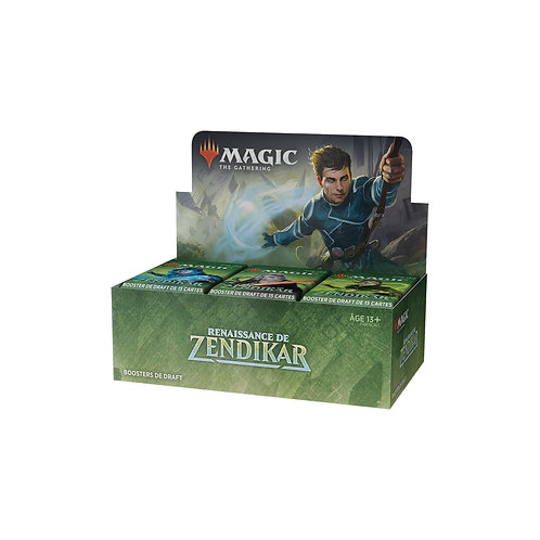 MAGIC : Boîte de boosters RENAISSANCE DE ZENDIKAR VF