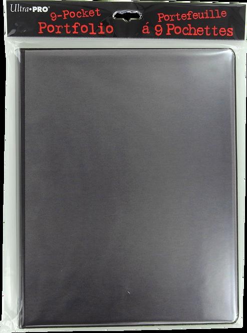 Portfolio Noir personnalisable 180 cartes