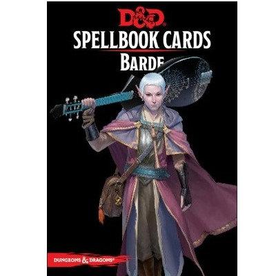 D&D : Spellbook Cards : BARDE FR