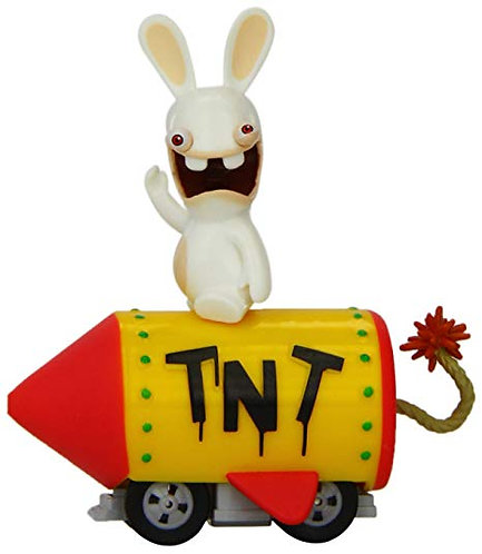 Lapin Crétin -Voiture T.N.T