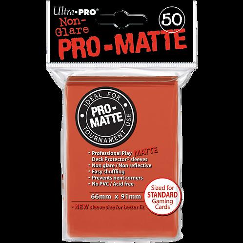 50 Protections Individuelles de Carte Ultra.Pro Matte