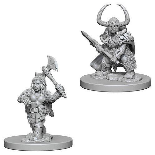 D&D Figurines DWARF BARBARIAN