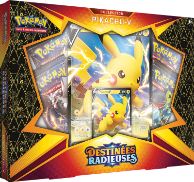 Pokémon Coffret Pikachu - V
