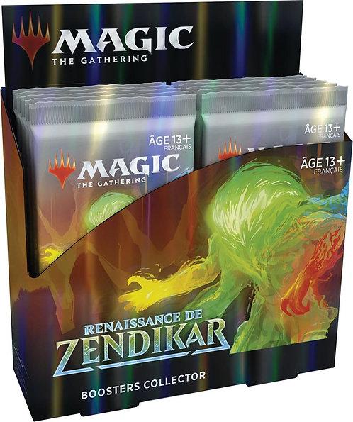 MAGIC : Boîte de Booster Collector LA RENAISSANCE DE ZENDIKAR VF