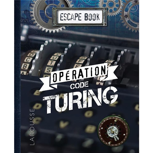 ESCAPE BOOK : Opération Code Turing