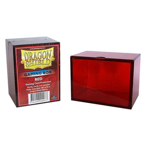 Dragon Shield STRONGBOX Rouge