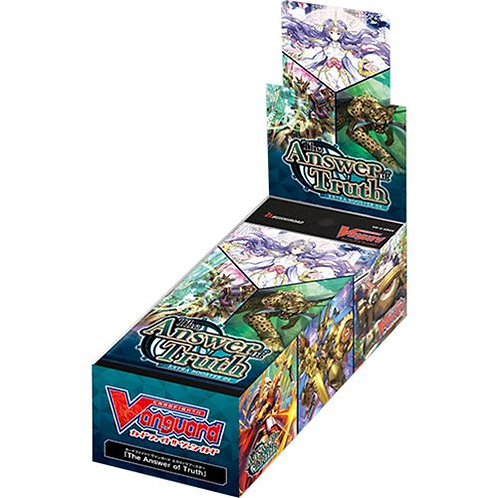 Cardfight !! Vanguard : Boîte de 12 boosters The Answer of Truth (VO)
