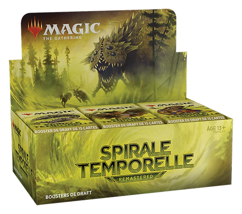 MAGIC: Boîte de 36 Boosters SPIRALE TEMPORELLE Remastered
