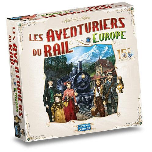 LES AVENTURIERS DU RAIL Europe 15ème Anniversaire