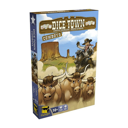 DICE TOWN EXTENSION Cowboys