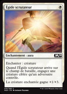 Blanche - Égide scrutateur (M20)