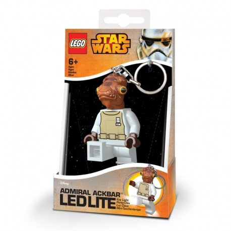 PORTE-CLES LED - LEGO Amiral ACKBAR