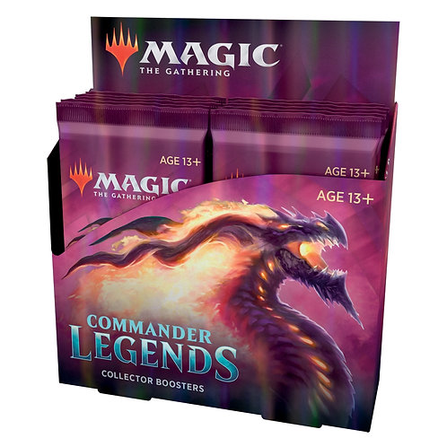 MAGIC: Boîte de Boosters Collectors COMMANDER LEGENDES VF