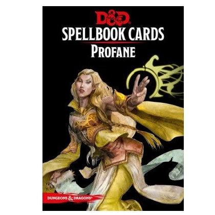 D&D : Spellbook Cards : PROFANE FR