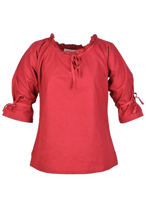 Chemise Médiévale Birga - Rouge