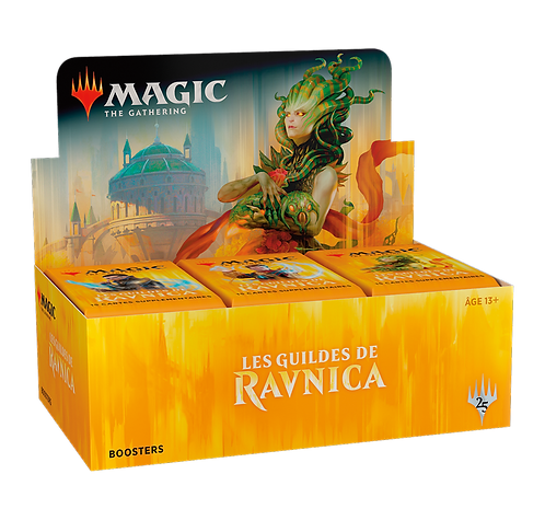MAGIC : Boîte de 36 Boosters Les Guildes de RAVNICA