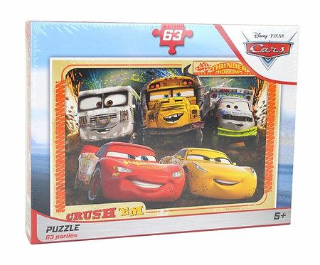 PUZZLE CARS 63 P