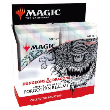 MAGIC: Boîte de Boosters Collectors D&D Forgotten Realms FR