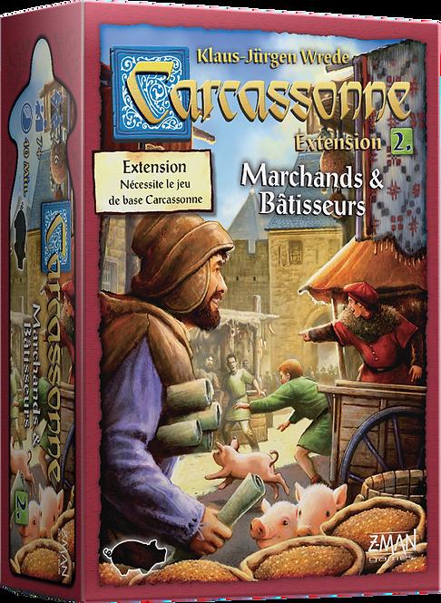 Carcassonne Marchands et Bâtisseurs