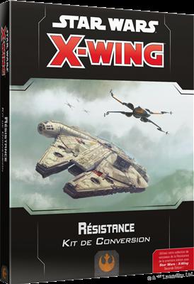 Star Wars X-Wing - RESISTANCE - Kit de conversion