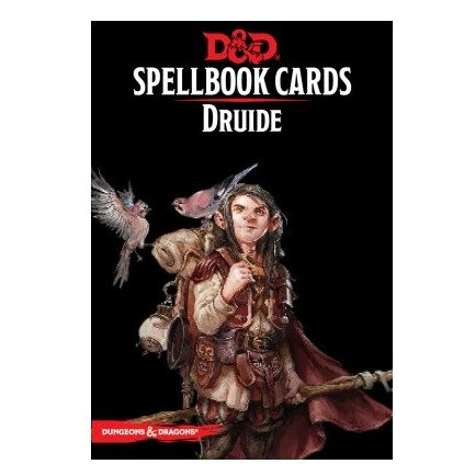 D&D : Spellbook Cards : DRUIDE FR