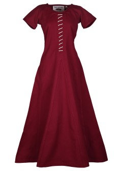 Robe AVA lie de vin