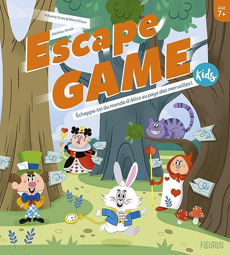 Escape Game Kids : Echappe-toi Du Monde d'Alice Au Pays Des Merveilles